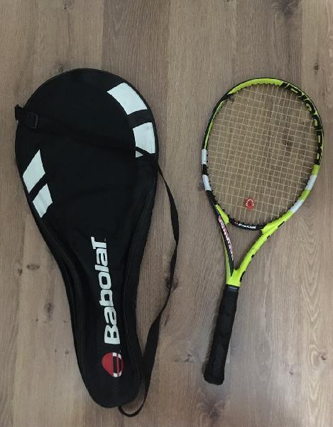 Raqueta tenis babolat con funda
