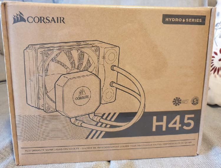 Sistema refrigeracion liquida corsair h45 - nuevo