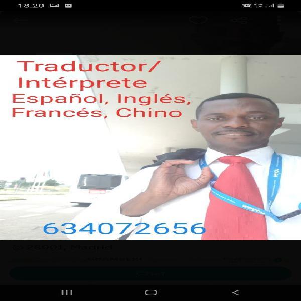 Traductor, intérprete y docente