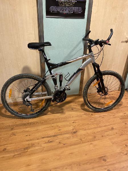 Vendo bicicleta montaña con doble suspension