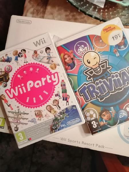 Wii +juegos