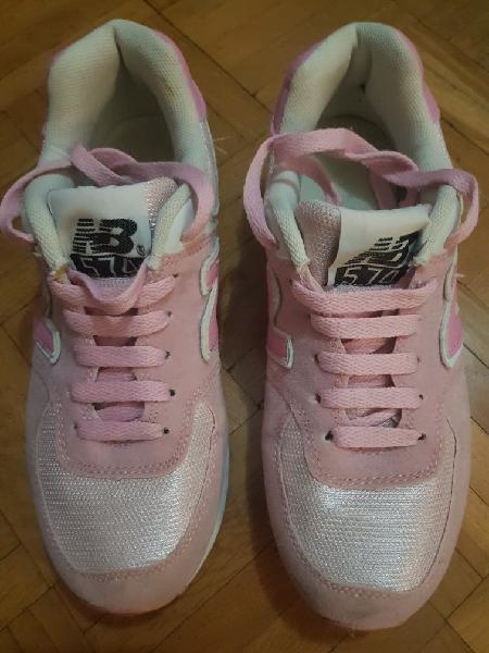 Zapatillas new balance rosa