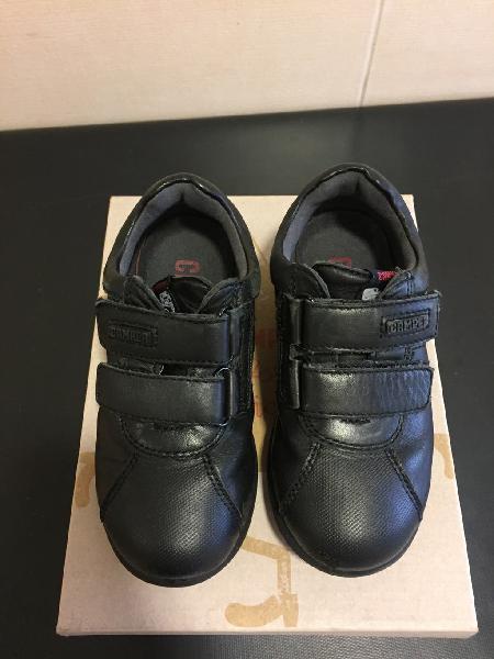Zapatos de piel camper n25 negro