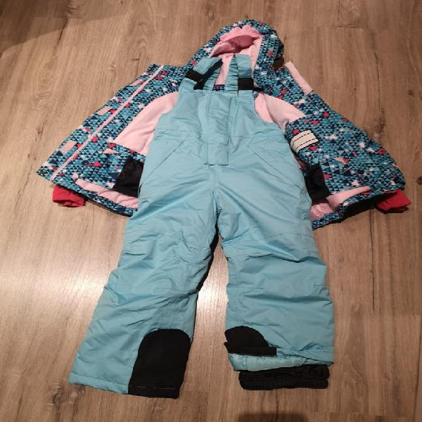 Chaqueta y pantalon esquí niña