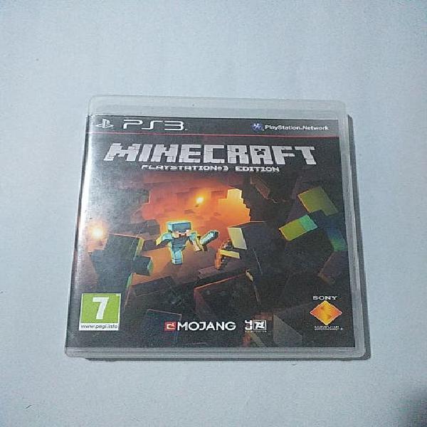 Minecraft ps3 playstation 3