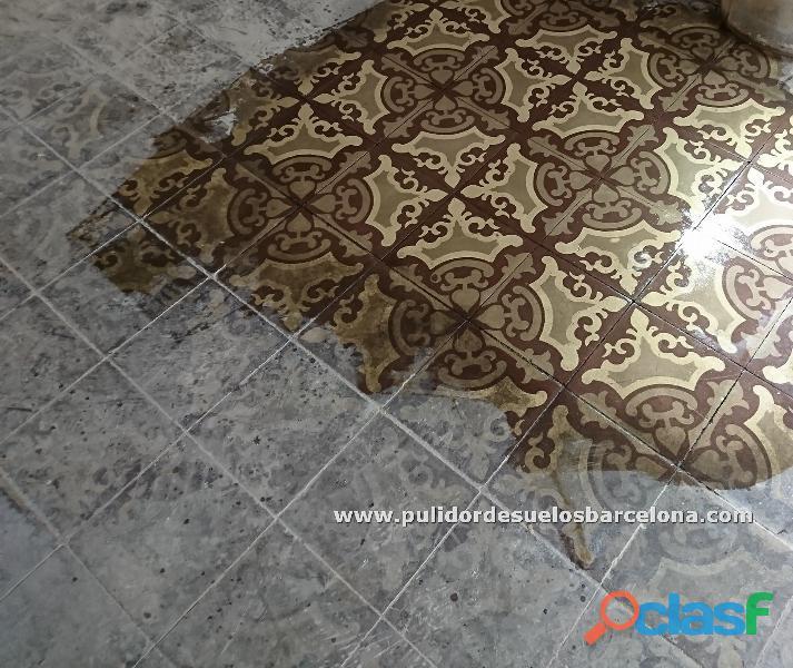Mosaico hidráulico, mosaico nolla, mármol, barro cocido y gres. Pulidor de suelos barcelona y Girona