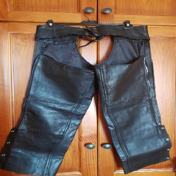 Pantalón cuero protección
