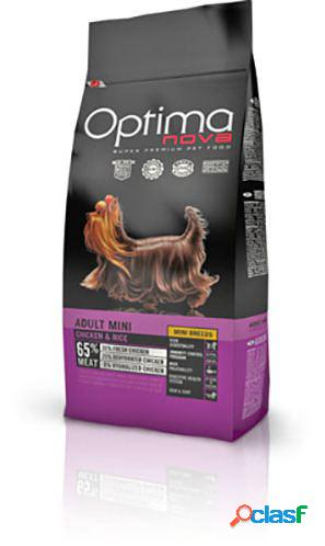 Optimanova adult mini pollo y arroz 12 kg