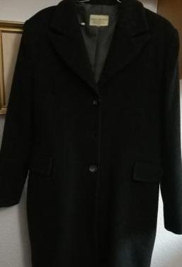 Abrigo mujer gris marengo. talla 46
