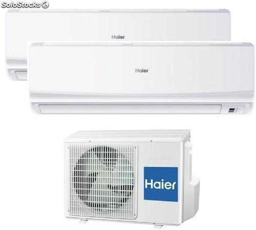 Aire acondicionado Haier multi split 2x1 2133 + 2133