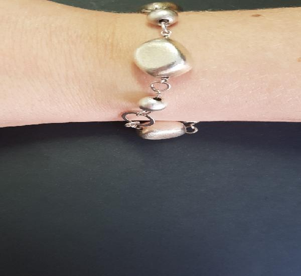 Bonita pulsera de plata 925 19 cm