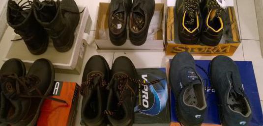 Botas y zapatos de seguridad numero 43