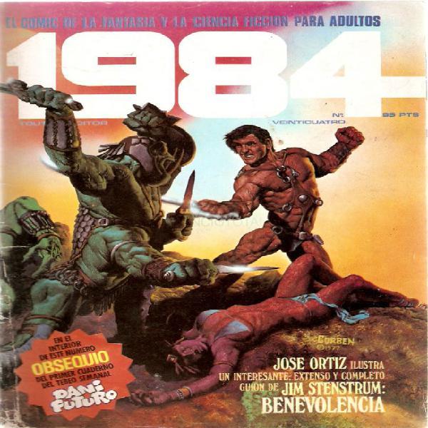 CóMIC 1984 Nº 24