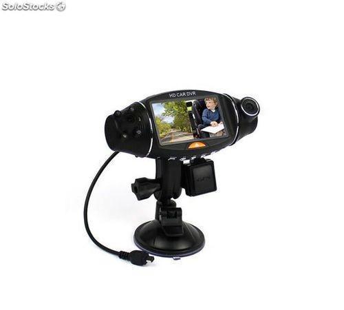 Cámara para vehículo dashcam cdp 310 dual vigilant con gps