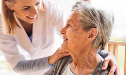 Cuidados de personas mayores con experiencia