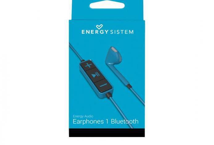 Energy earphones 1 bluetooth - auriculares interno