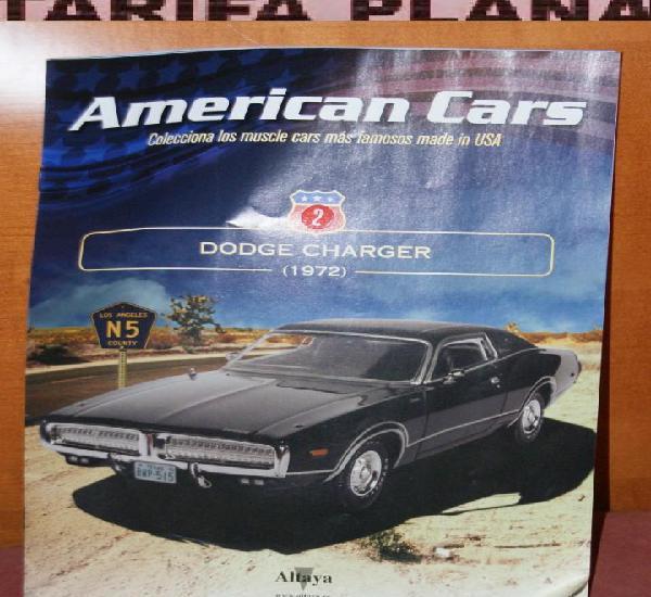 Fasciculo n 2 dodge charger 1972 de la coleccion american