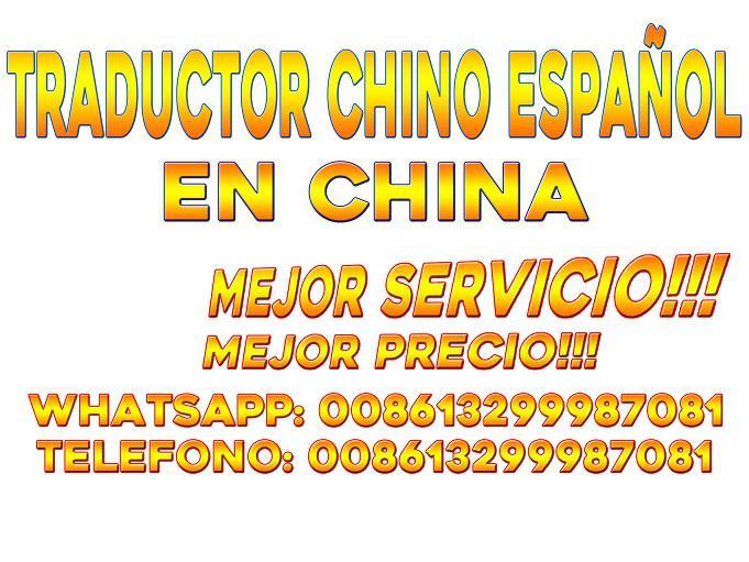 Intérprete chino español china pekin beijing