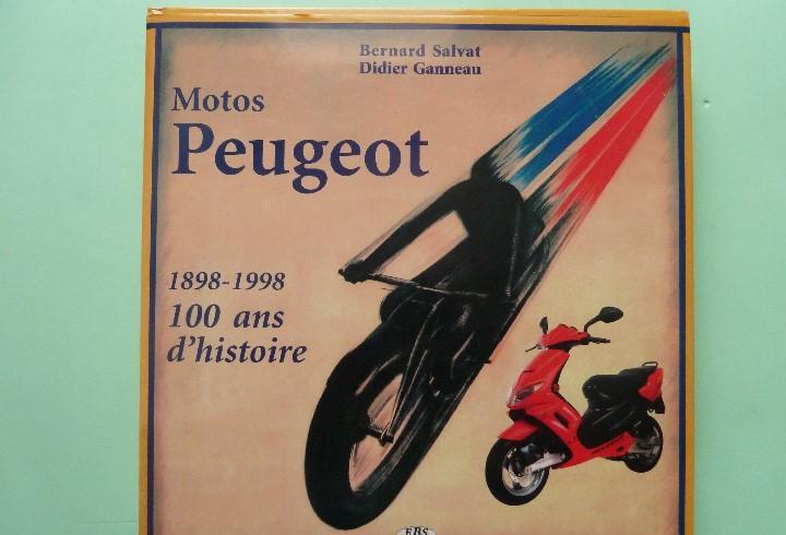 Libro-motos ·peugeot·1898-1998 --100 ans d´histoire