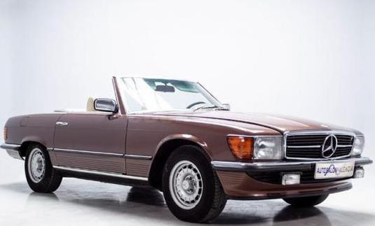 Mercedes 280 sl europeo de 1978
