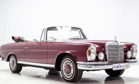 Mercedes benz 220 se cabriolet (w111)