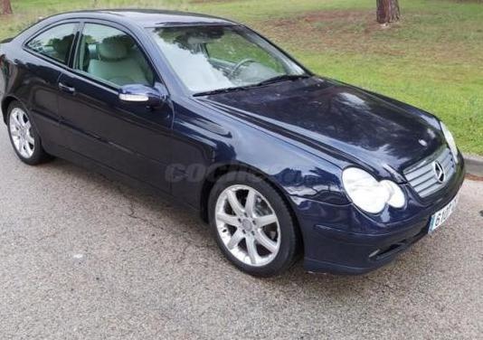 Mercedes-benz clase c c 200 k sportcoupe 3p.