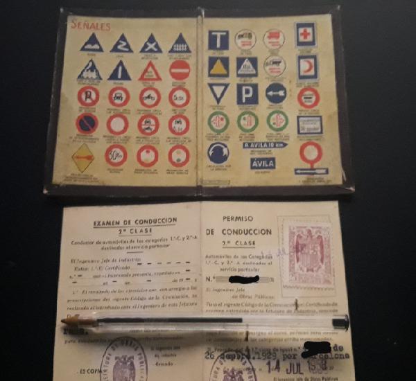 Permiso de conducir 1958