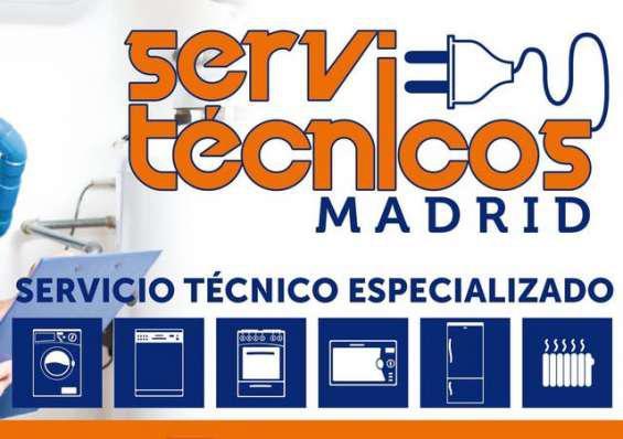 Servicio tecnico de electrodomesticos en madrid