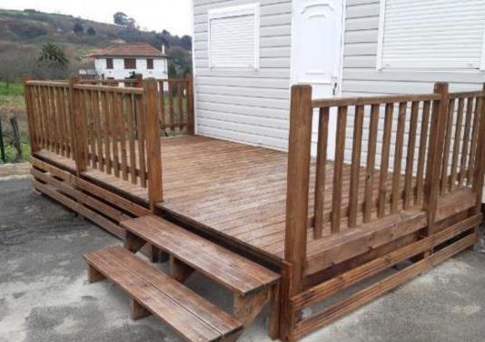 Terraza de madera para mobilhome
