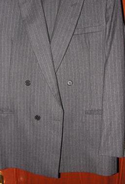 Traje de caballero de lana 100%