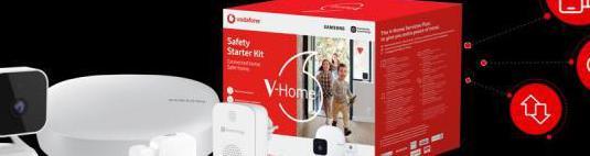 Vodafone v-home safety starter kit de samsung