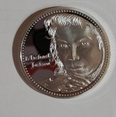 Moneda michael jackson