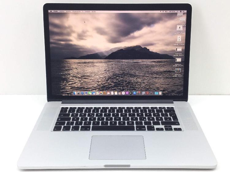 Portatil apple apple macbook pro core i7 2.2 15 (2015)