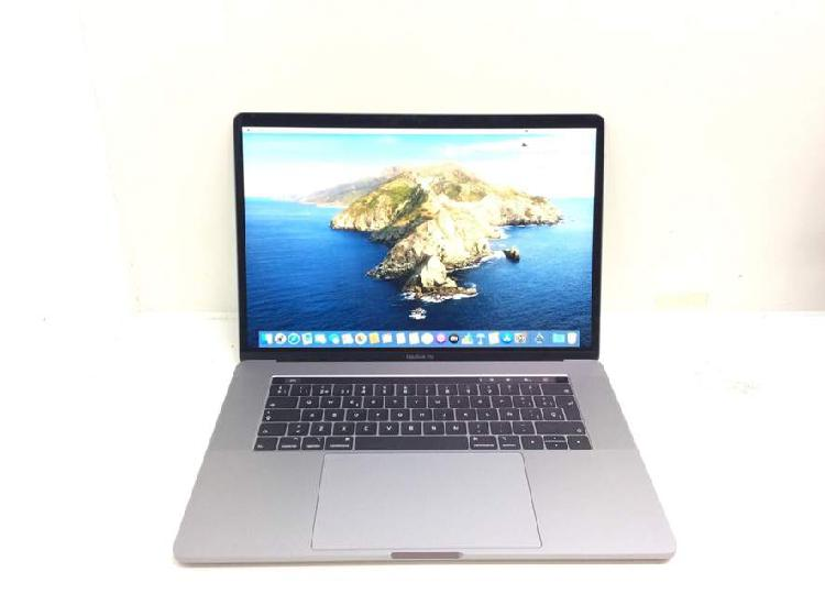 Portatil apple apple macbook pro core i7 2.6 15 touchbar