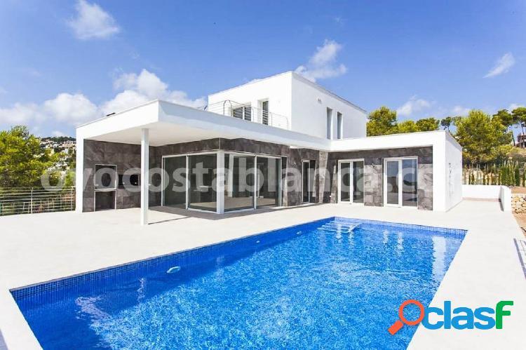 Villa moderna en venta en moraira, costa blanca