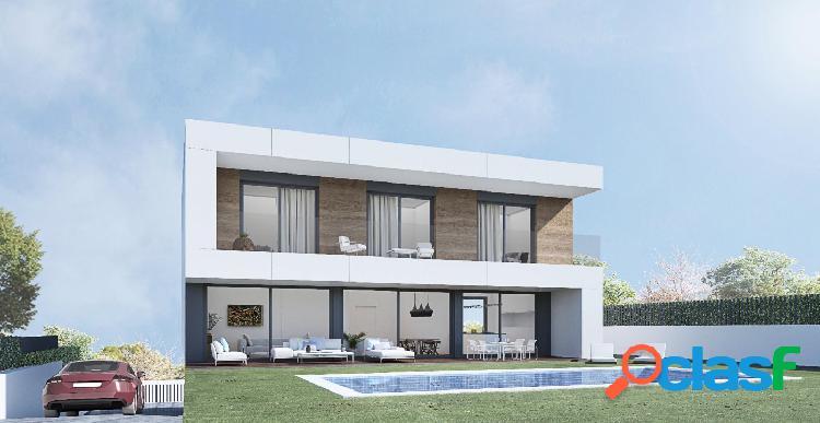 Mágnifica casa unifamiliar de obra nueva, en construcción