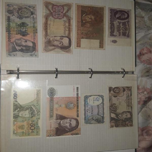 Album de billetes del mundo