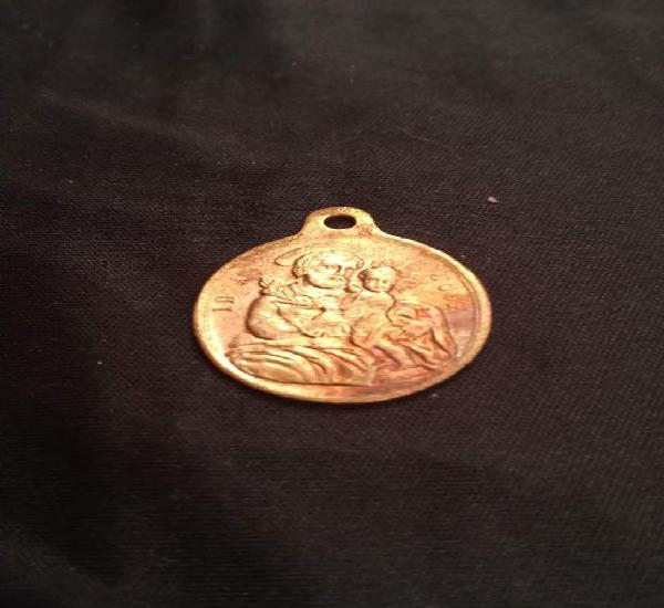 Antigua medalla de san jose (c)