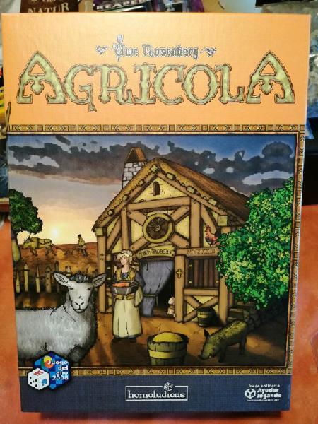 Agrícola. juego de mesa