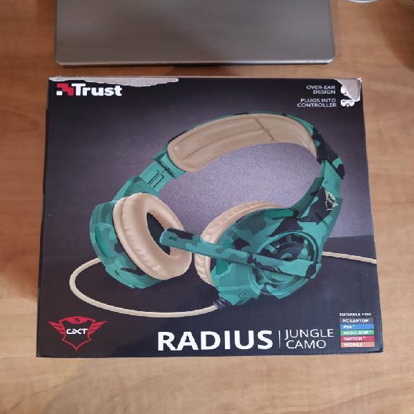 Auriculares trust radius gxt 310c jungle camo