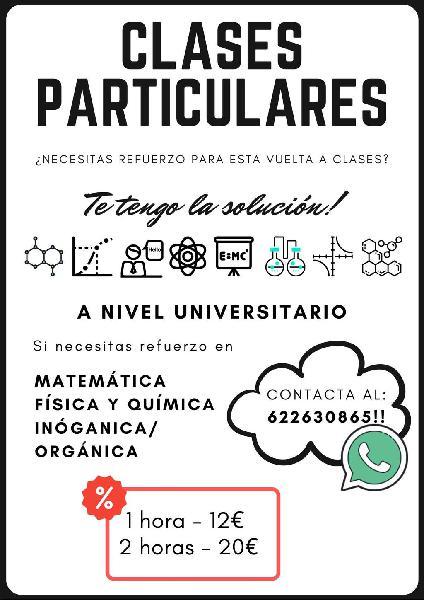 Clases para estudiantes universitarios -ingeniería