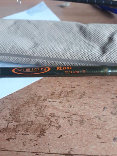 Caña mosca vision mag 2/3# 11 pies