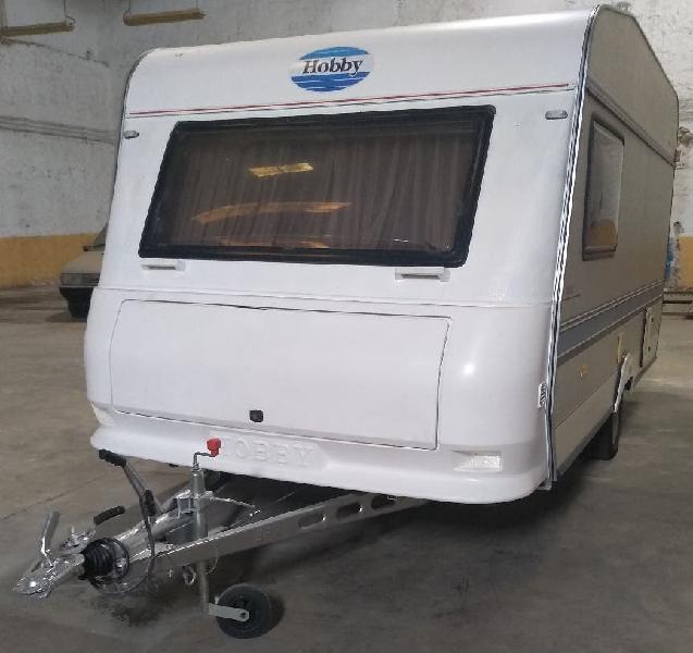 Caravana hobby classic menos 750kg