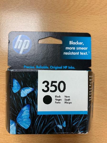 Cartucho de tinta negra 350 impresora hp