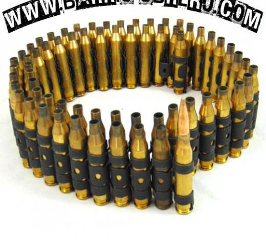 Cinturón de balas color dorado. contra reembolso. import