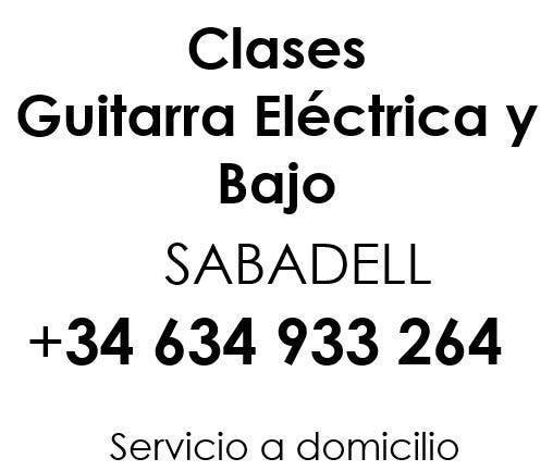 Clases de guitarra electrica - bajo
