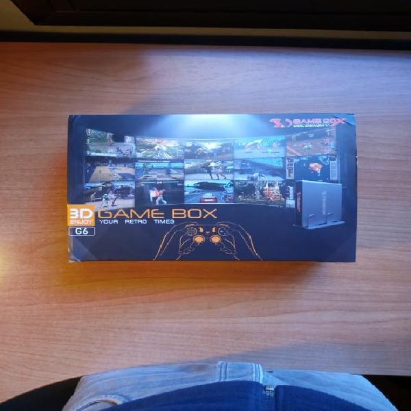 Consola de videojuegos 3d gamebox goldensky g6
