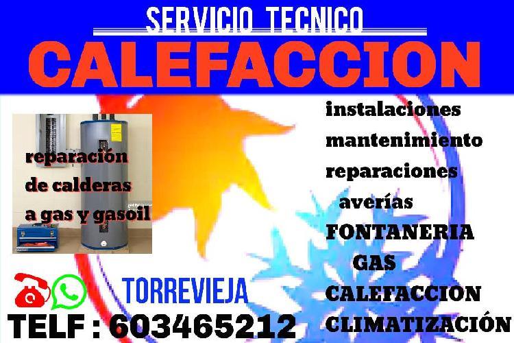 Fontaneria - gas - calefaccion
