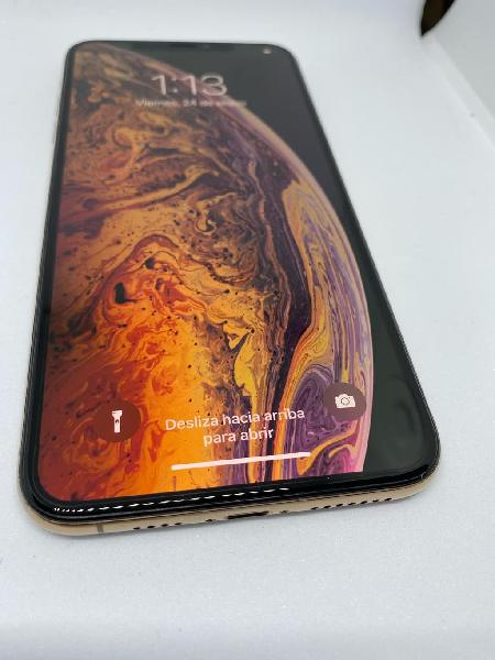 Iphone xsmax 64g con factura, garantía