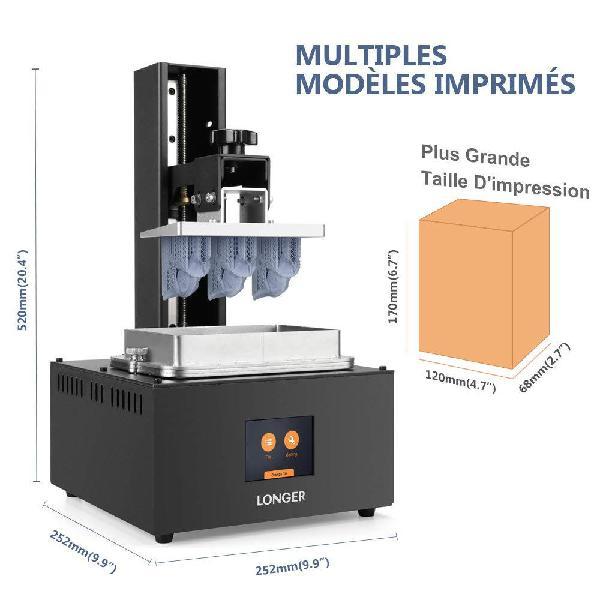 Impresora 3d longer orange 30